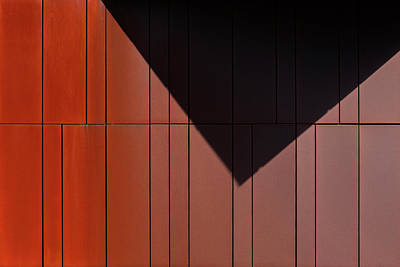 Photograph - Rusty Minimal 1 by Stuart Allen