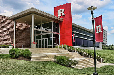 Photograph - Rutgers Visitor Center by Allen Beatty