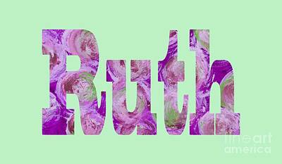 Digital Art - Ruth by Corinne Carroll