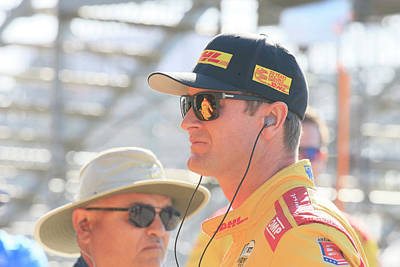 Sports Royalty-Free and Rights-Managed Images - Ryan Hunter-Reay by Shoal Hollingsworth