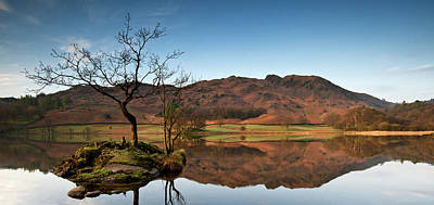 Ambleside Wall Art - Photograph - Rydal Water In The Lake District by Michael Roberts