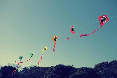 Photograph - Ryuu Kites by Copyright Paul England