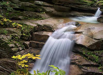 Photograph - Sabbaday Falls by David Hintz