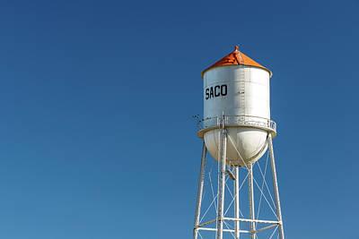 Photograph - Saco Water Tower by Todd Klassy