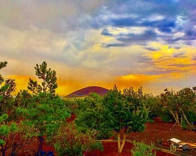 Photograph - Sacral Energies After The Monsoon Rain by Michael Oceanofwisdom Bidwell