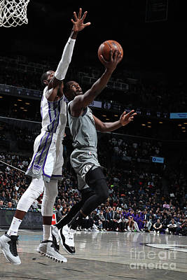 Photograph - Sacramento Kings V Brooklyn Nets by Nathaniel S. Butler