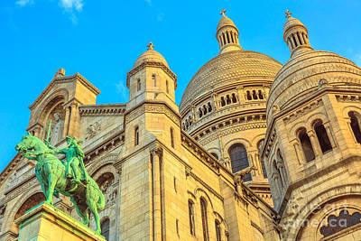 Photograph - Sacre Coeur Paris by Benny Marty