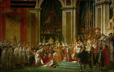 Painting - Sacre De Napoleon by Jacques Louis David