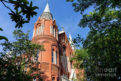 Photograph - Sacred Heart Cultural Center- Augusta Ga 1 by Sanjeev Singhal