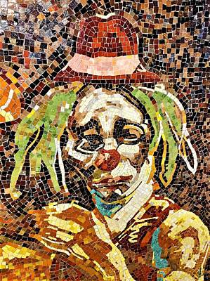 Photograph - Sad Hobo Clown by Rob Hans