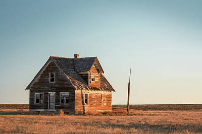 Photograph - Sad Homestead by Todd Klassy
