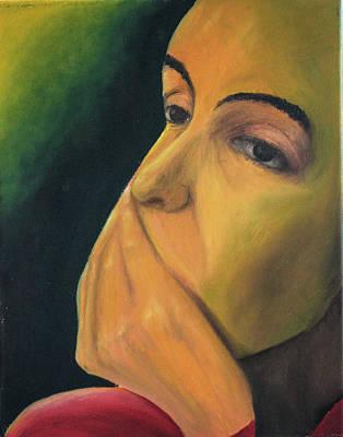 Painting - Sadness by Juan Contreras