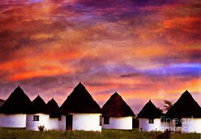 Photograph - Safari Huts by Scott Kemper