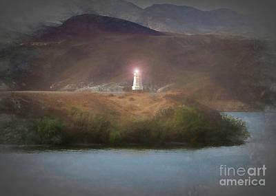 Digital Art - Safe Harbor by Lyndie Mason Warner