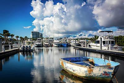 Photograph - Safe Harbor Series 67 by Carlos Diaz
