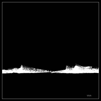 Painting - Safe Passage - Black by VIVA Anderson