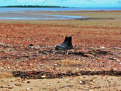 Landscape Wall Art - Photograph - Safety Boot Beach by Joan Stratton