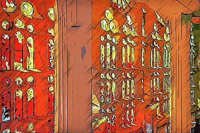 Painting - Sagrada Familia - 25 by Andrea Mazzocchetti