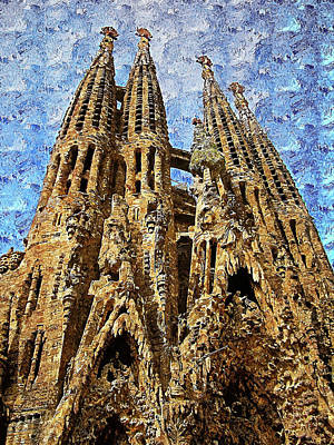 Firefighter Patents Royalty Free Images - Sagrada Familia - 30 Royalty-Free Image by AM FineArtPrints