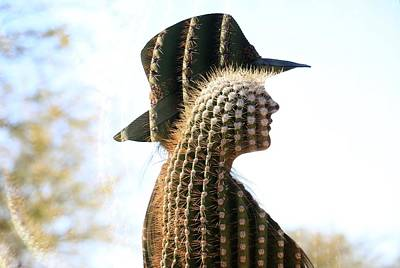 Photograph - Saguaro Girl by Greg Wickenburg