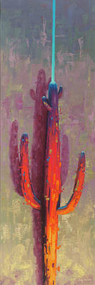 Impressionist Landscapes - Saguaro Light Saber by Cody DeLong