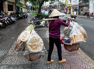 Wall Art - Photograph - Ho Chi Minh City Street Scene 1 by Steven Richman