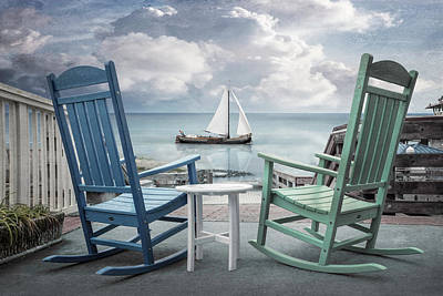 Photograph - Sail On In The Early Morning by Debra and Dave Vanderlaan