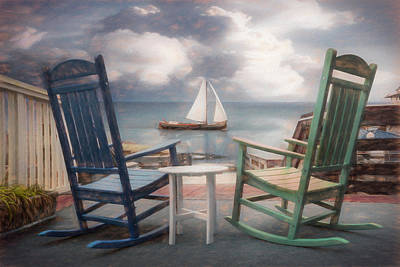 Photograph - Sail On Painting by Debra and Dave Vanderlaan