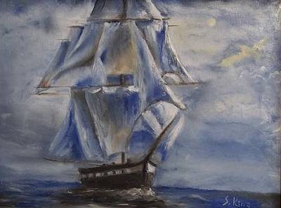 Painting - Sail The Seas by Stephen King