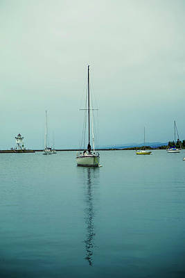 Photograph - Sailboats In Grand Marais by Susan Rydberg