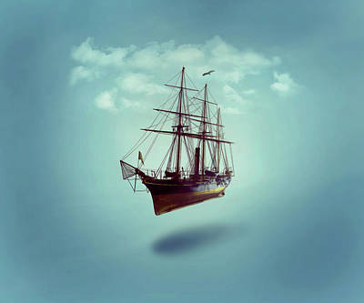 Digital Art - Sailed Away by ISAW Company