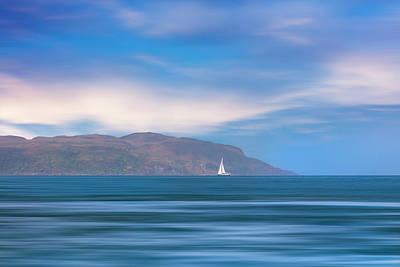Photograph - Sailing Away by Debra and Dave Vanderlaan