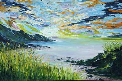 Painting - Sailing By Lovers Cove Kinsale by Conor Murphy