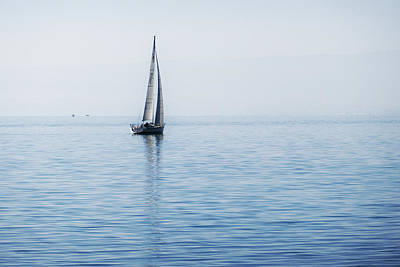 Photograph - Sailing Into The Mists by Jeremy Hayden