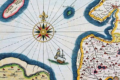 Topography Wall Art - Photograph - Sailing by Nikada