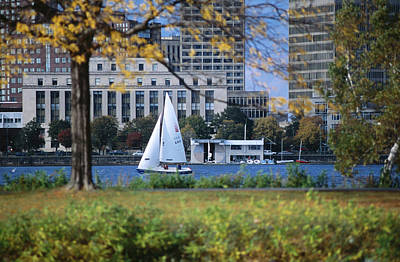 Photograph - Sailing Off The Esplanade On The by Lonely Planet