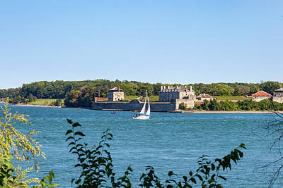Photograph - Sailing On The Niagara River by Jack R Perry