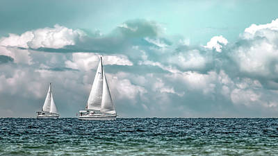 Photograph - Sailing by Onyonet  Photo Studios