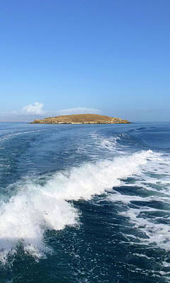 Photograph - Sailing To Delos by Nicholas V K