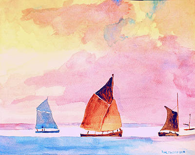 Sailing Vessels Long Ago Original