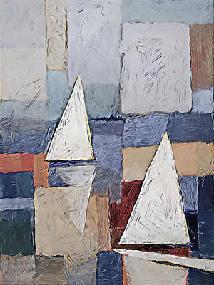 Painting - Sails Art by Lutz Baar