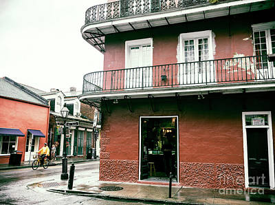 Photograph - Saint Ann Street Situation New Orleans by John Rizzuto