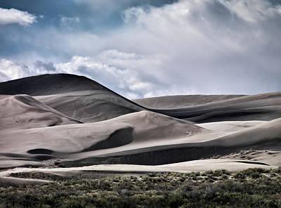 Photograph - Saint Anthony Dunes by Leland D Howard