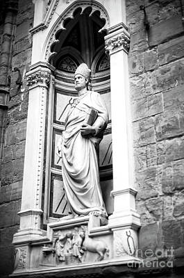 Photograph - Saint Eligius At The Orsanmichele In Florence by John Rizzuto