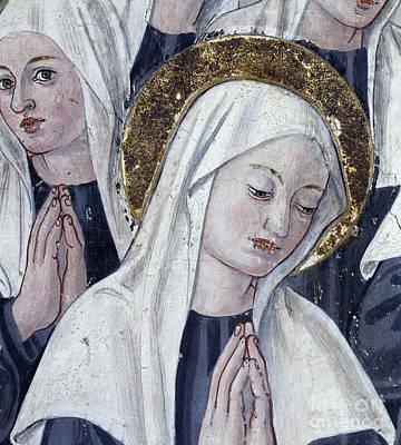 Painting - Saint Frances Of Rome, 1468  by Antoniazzo Romano