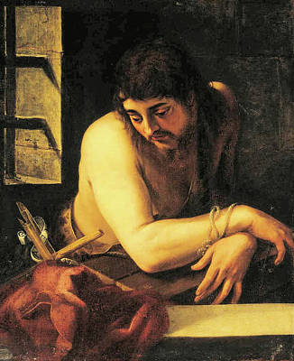 Painting - Saint John The Baptist In Prison by Juan Fernandez de Navarette