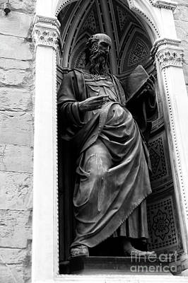Photograph - Saint John The Evangelist At The Orsanmichele In Florence by John Rizzuto