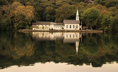 Photograph - Saint John's Cold Spring Harbor by Karen Silvestri