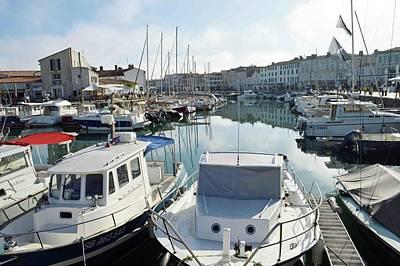 Saint-martin-de-re Harbour. Original