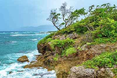 Photograph - Saint Mary Coast In Jamaica by Debbie Ann Powell